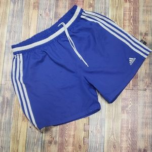 ADIDAS MENS CLIMALITE ATHLETIC SHORTS SIZE LARGE